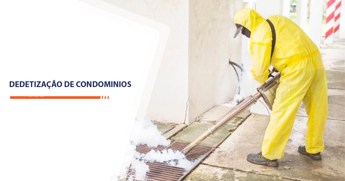 Dedetização de Condominios Sorocaba