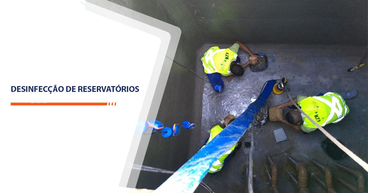 Desinfecção de Reservatórios Sorocaba