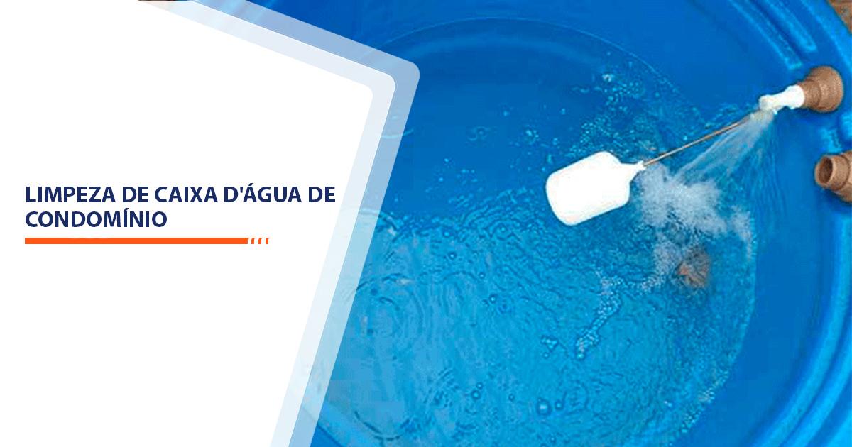 Limpeza de caixa d'água de Condomínio Sorocaba